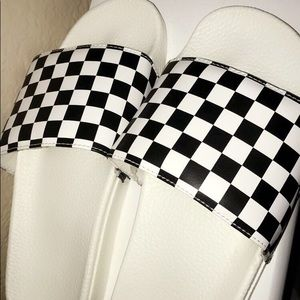 vans checkerboard sides